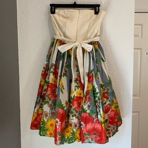 Anthropologie CARNATION Lilly Rose Floral Dress 4